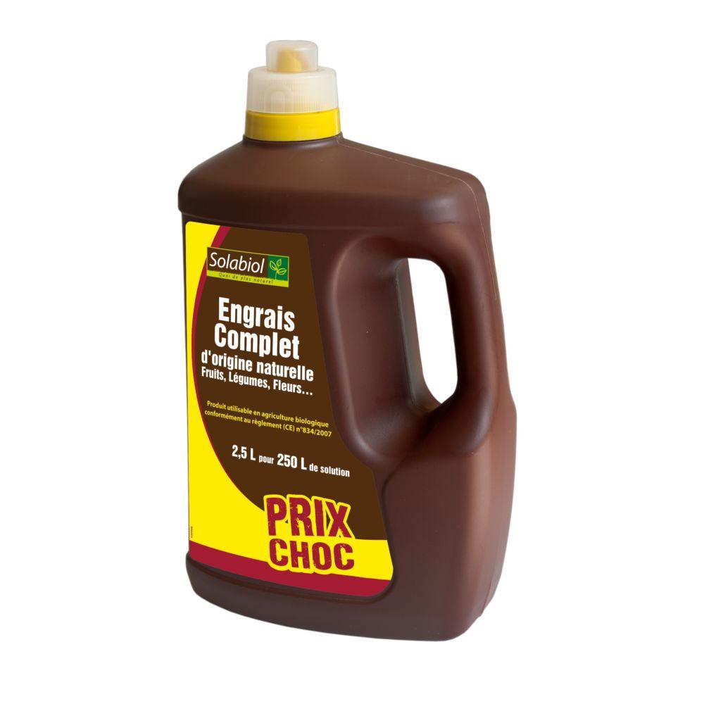 Engrais liquide complet 2.5 L – Solabiol