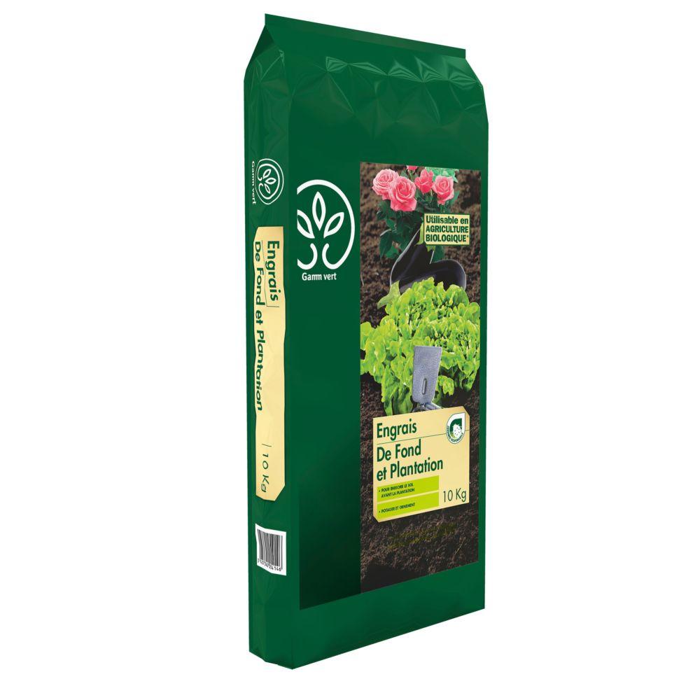 Engrais de fond et plantation 10 kg – Gamm vert