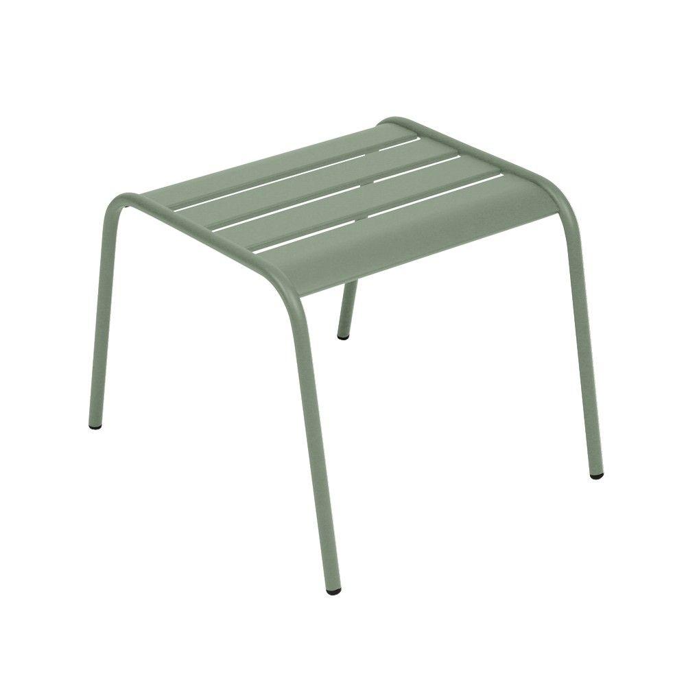Table basse repose-pieds Fermob Monceau acier cactus