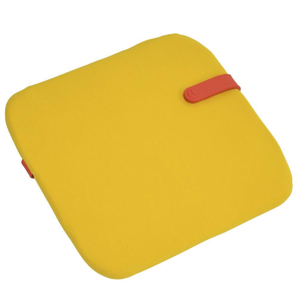Coussin Fermob color mix Monceau jaune