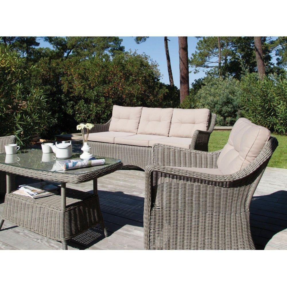Verossa Info Forum Salon De Jardin En Resine Tressee Design D  # Table De Jardin Gam Vert