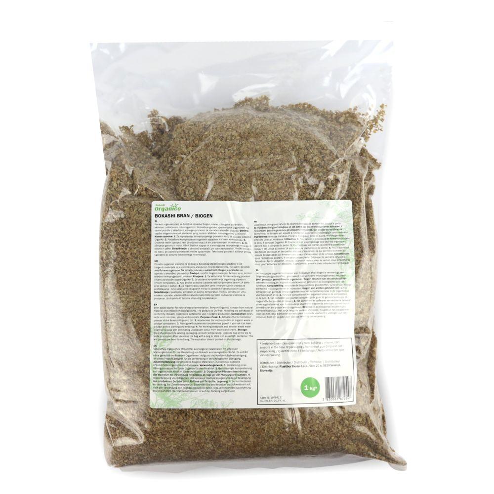 Activateur naturel de compost Bokashi 2 kg – Vivre Mieux