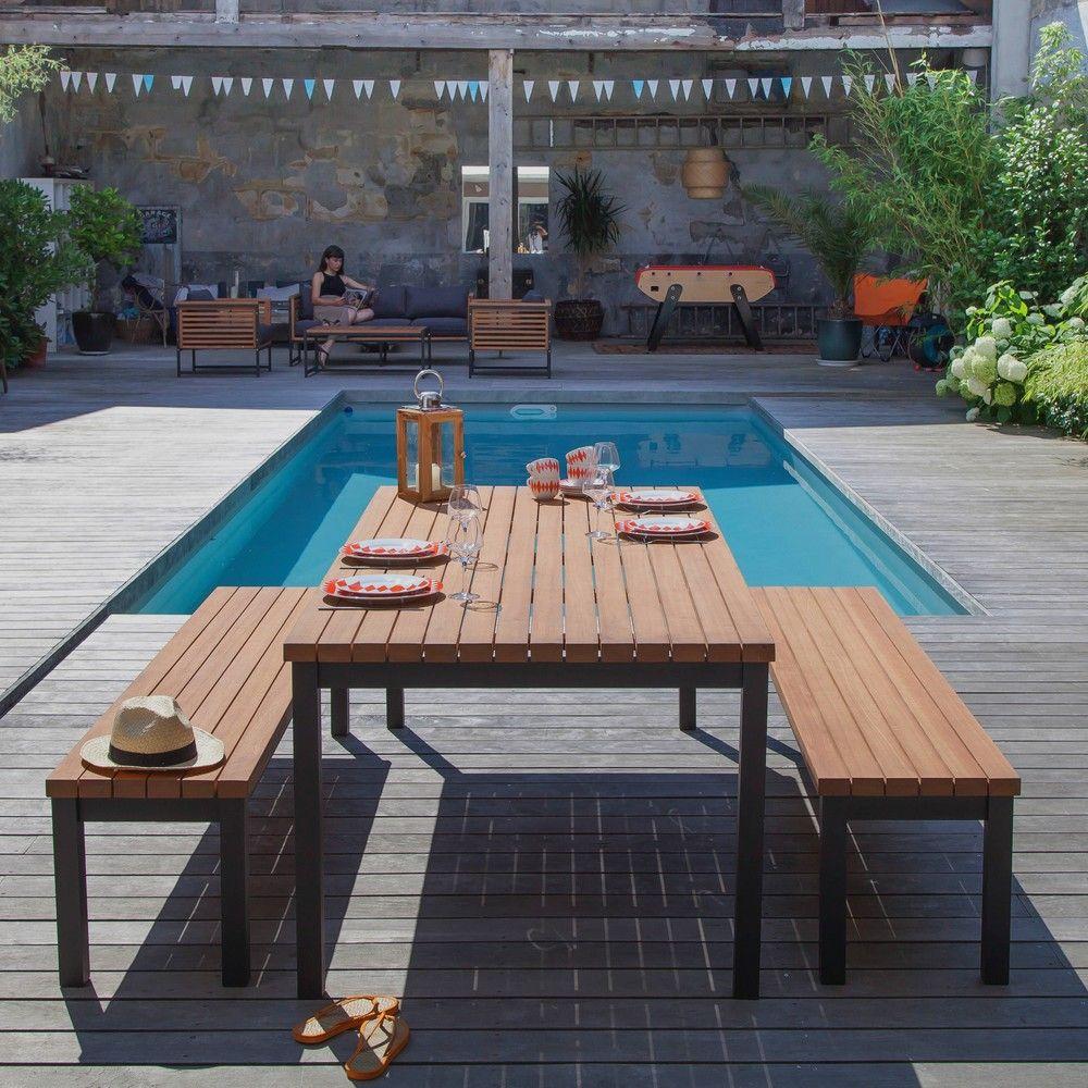 Beautiful Salon De Jardin Aluminium Magasin Vert Ideas - ansomone.us ...