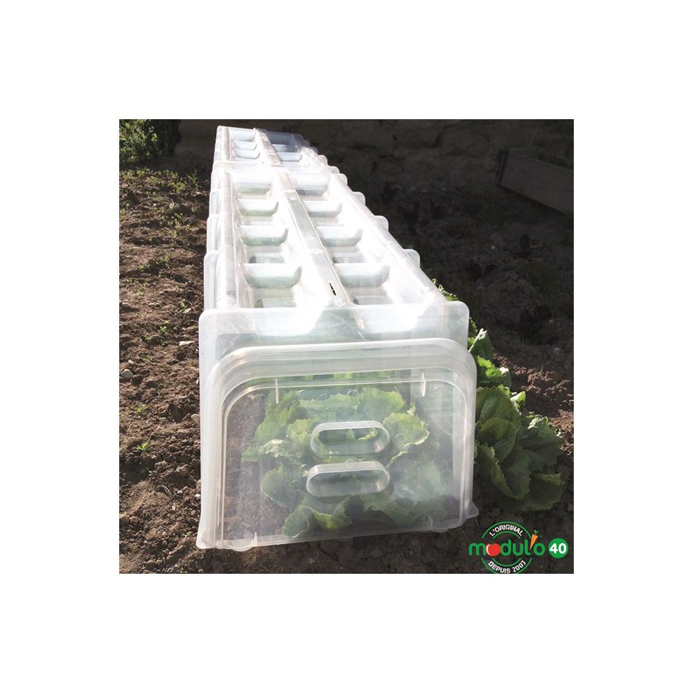 Tunnel de for age 105x39x30 cm pouss 39 vert carton gamm vert - Tunnel de forcage rigide pour jardin ...