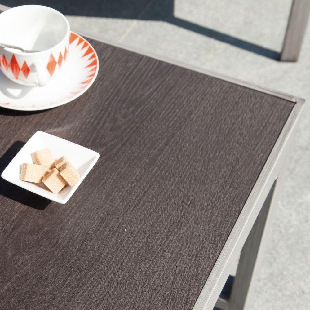 table basse manhattan aluminium plateau c ramique gamm vert. Black Bedroom Furniture Sets. Home Design Ideas
