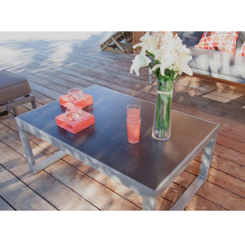 Salon de jardin trieste 1 canap 2 fauteuils 1 table gamm vert - Table jardin mosaique gamm vert ...