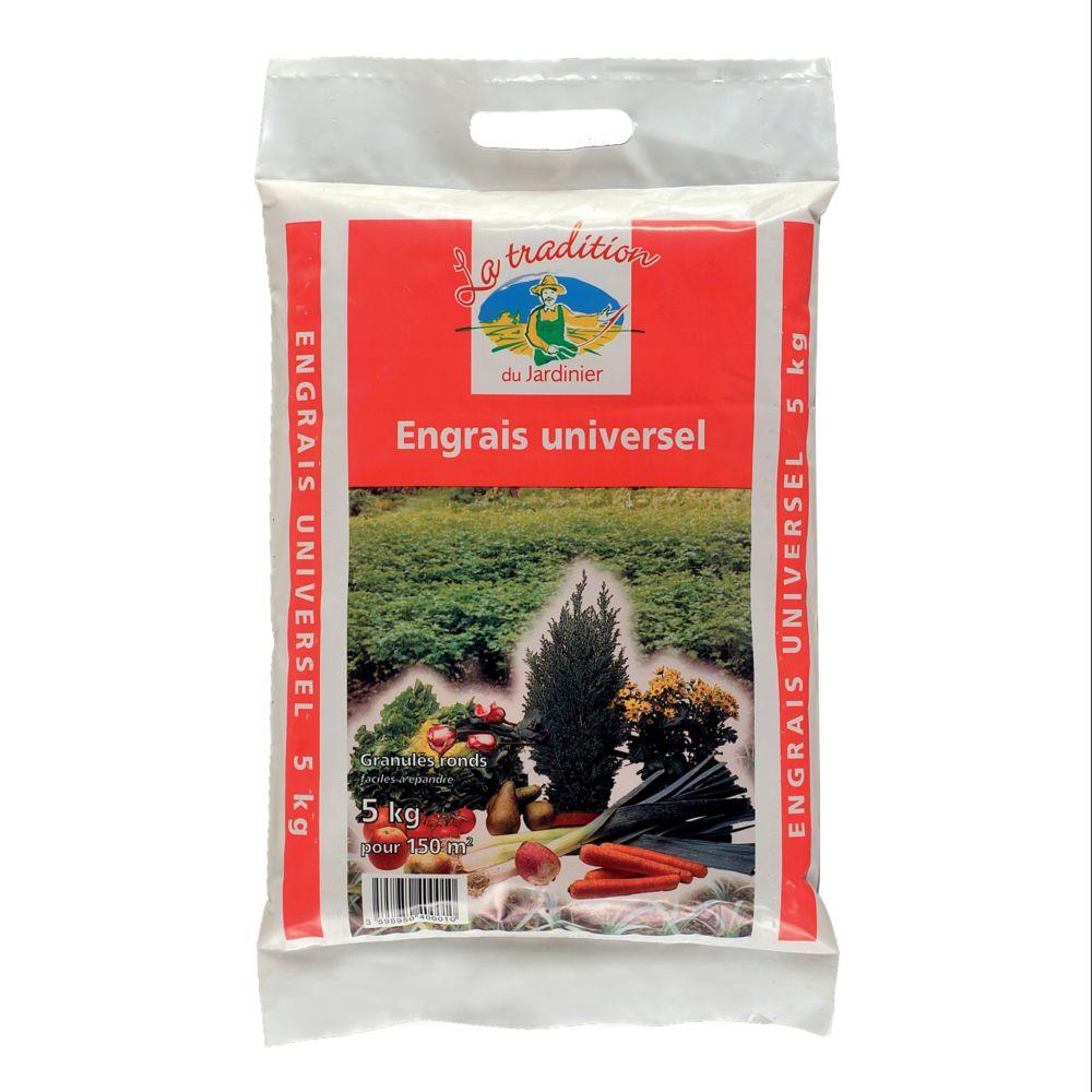 Engrais universel 5 kg – Compagnie des engrais de Longueil