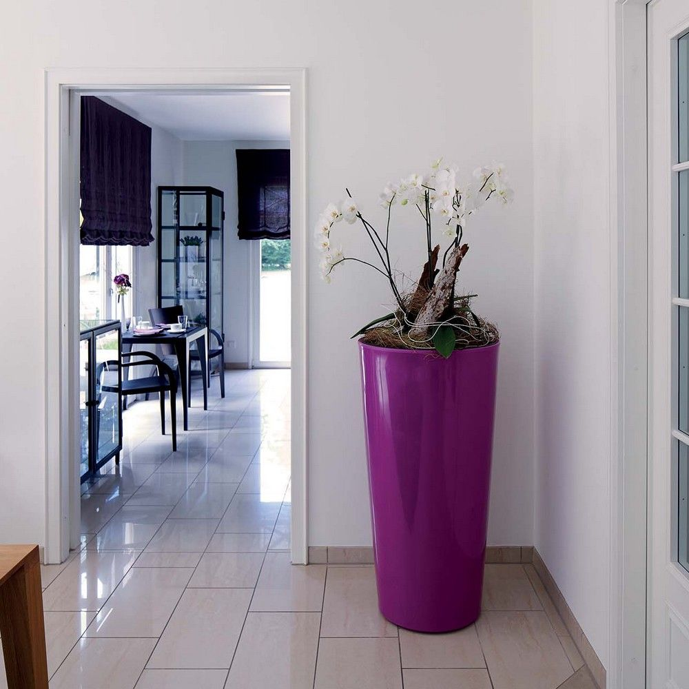 Pot Color H110 Ø58 cm cassis