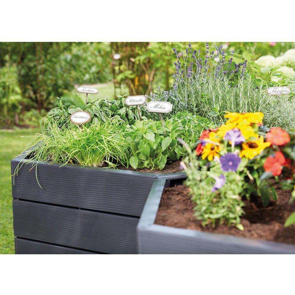 kit de 2 carr s potager ergo gamm vert. Black Bedroom Furniture Sets. Home Design Ideas
