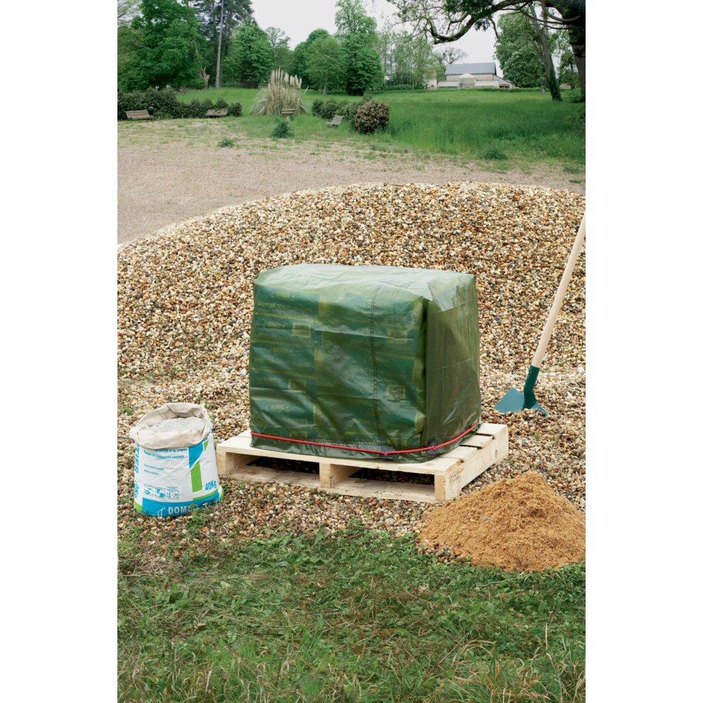 Bache renforcee 150g m 6x8m nortene gamm vert for Bache pour bassin exterieur gamm vert