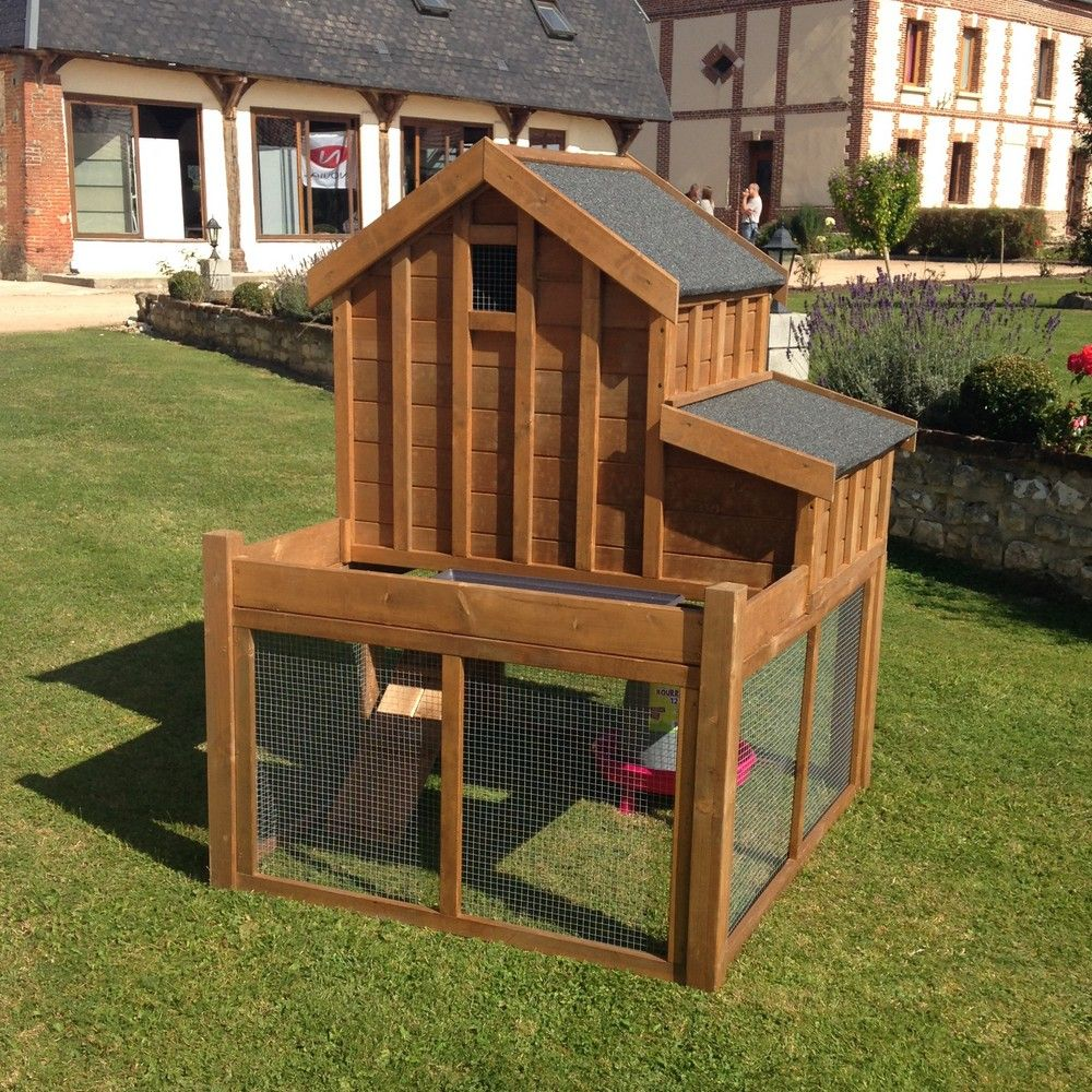 poulailler cosy garden 3 4 poules carton gamm vert. Black Bedroom Furniture Sets. Home Design Ideas