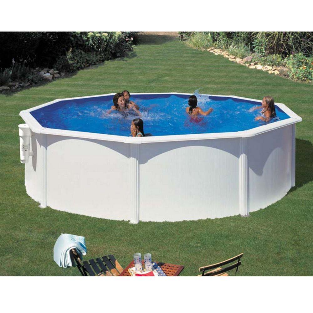 piscine ronde en acier bora bora d 3 x h m gr. Black Bedroom Furniture Sets. Home Design Ideas