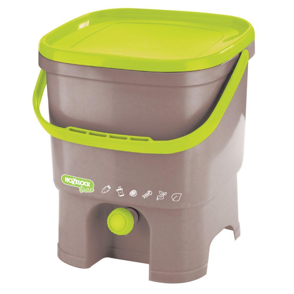 Composteur Cuisine | Composteur De Cuisine Bokashi Hozelock Pure Gamm Vert