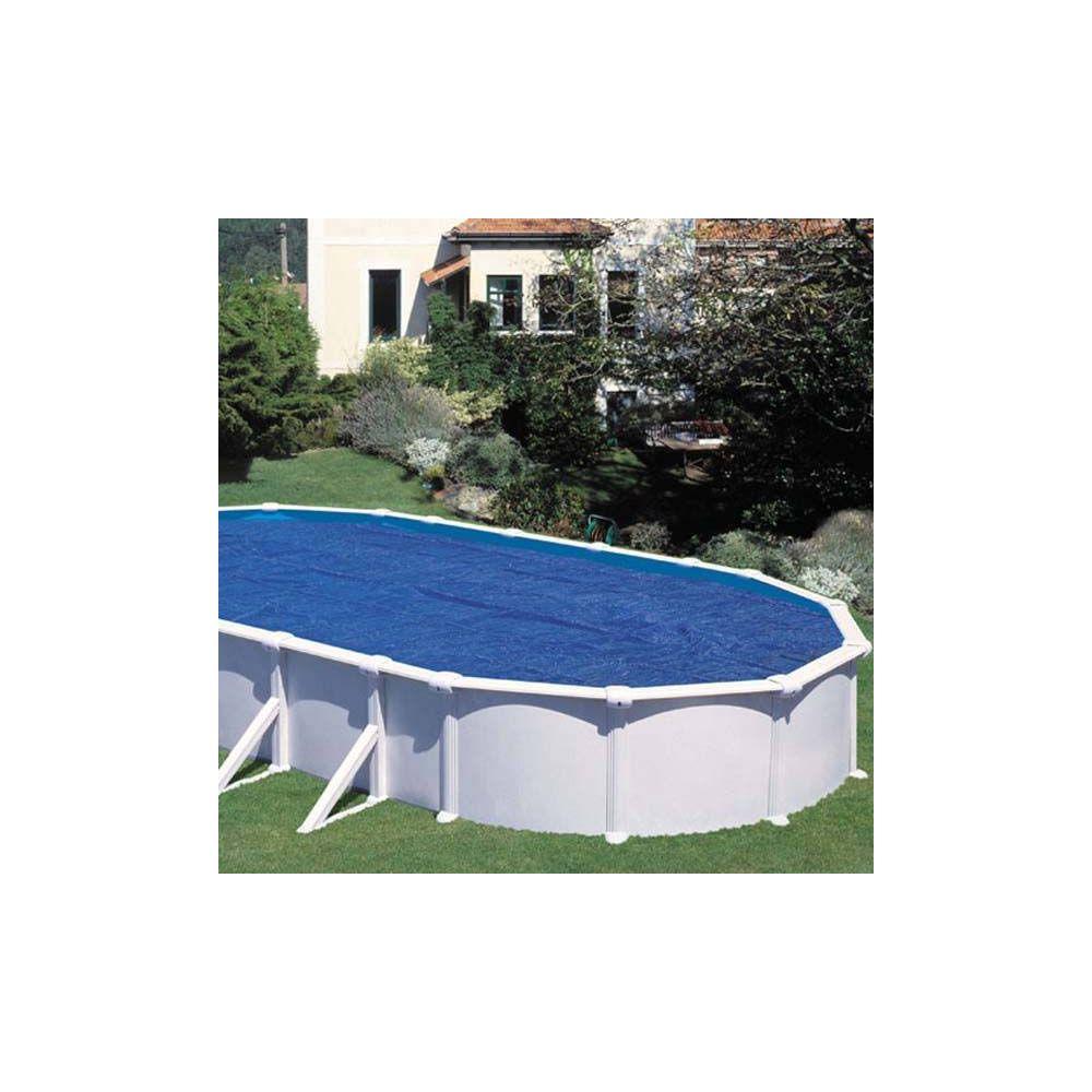 b che t bulles pour piscine acier ovale 5 x m. Black Bedroom Furniture Sets. Home Design Ideas