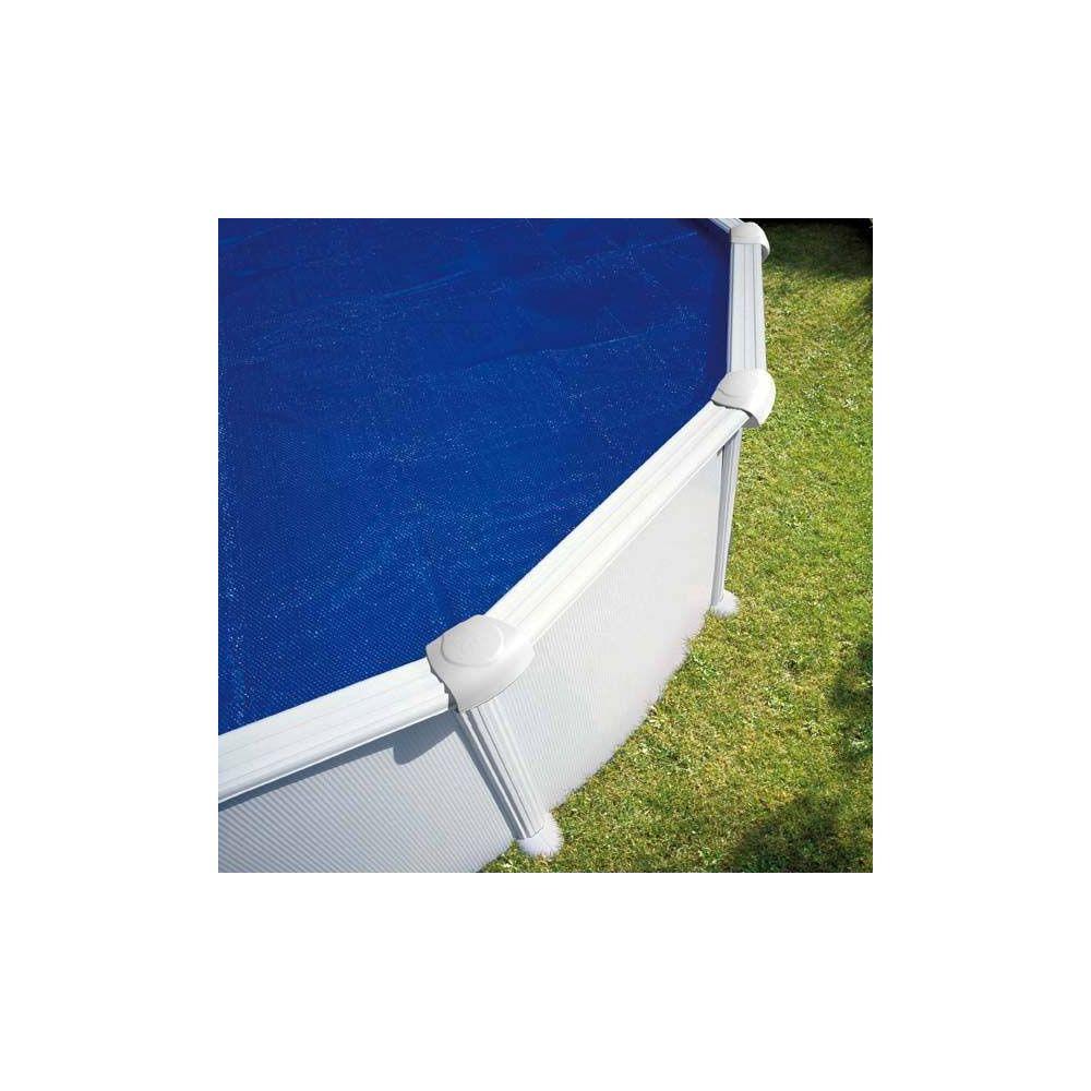 Bâche été à bulles pour piscine acier ronde D 5.50 m – Gré