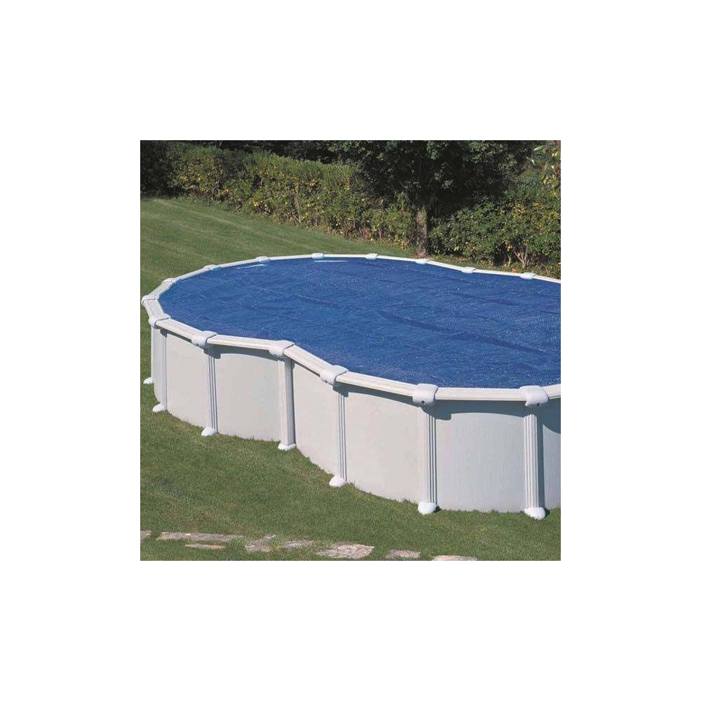 B che t bulles pour piscine acier en huit x for Bache pour bassin exterieur gamm vert