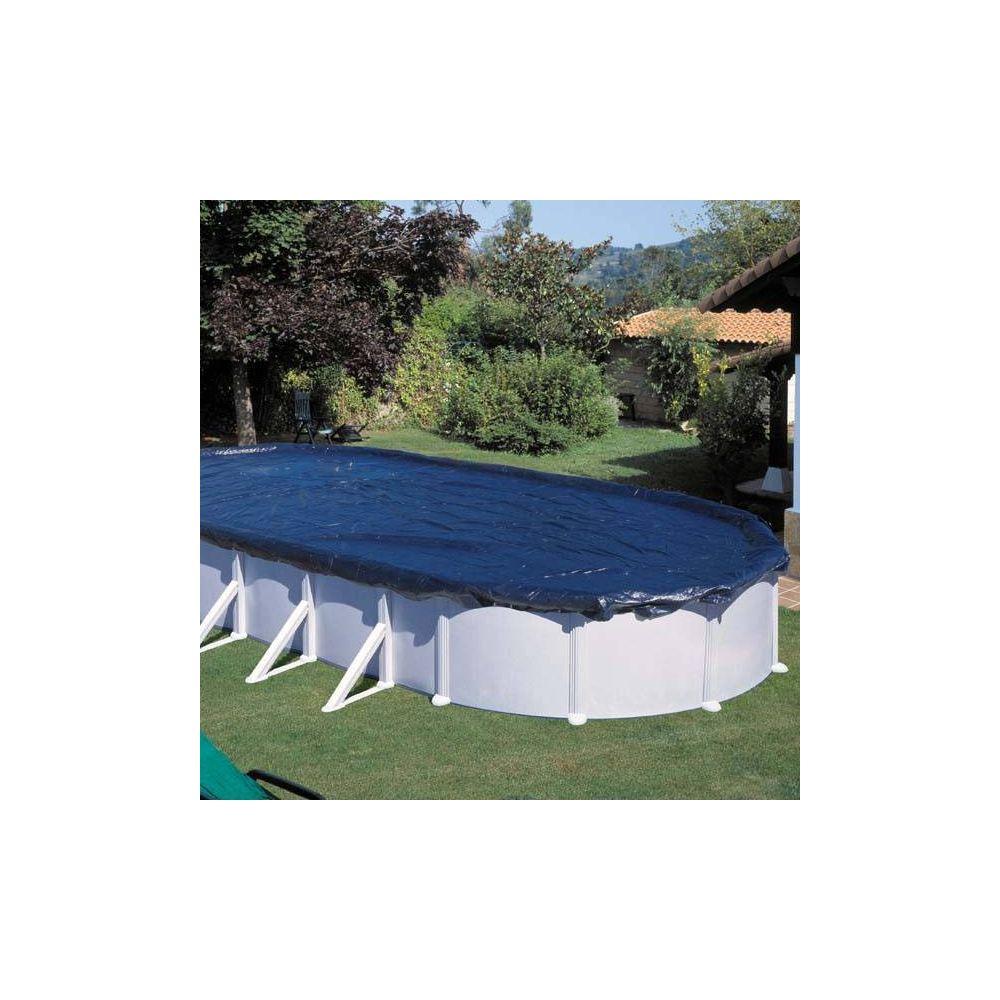 Bâche hiver pour piscine acier ovale 5 x 3 m – Gré