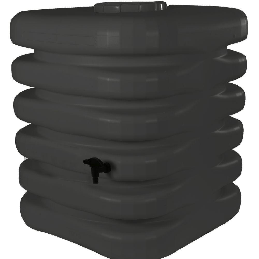 Récupérateur d'eau BELLIJARDIN anthracite Cubique 1000 L