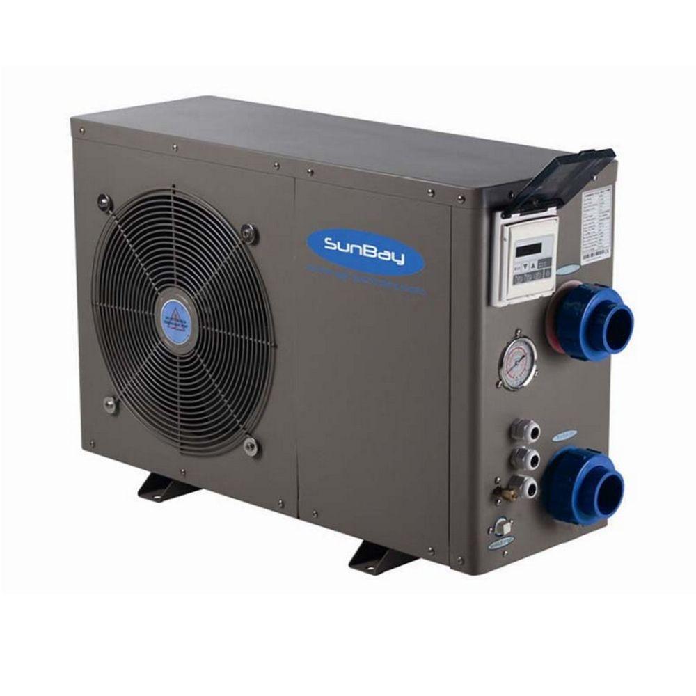 Pompe à chaleur réversible pour piscine 30m3 – Sunbay