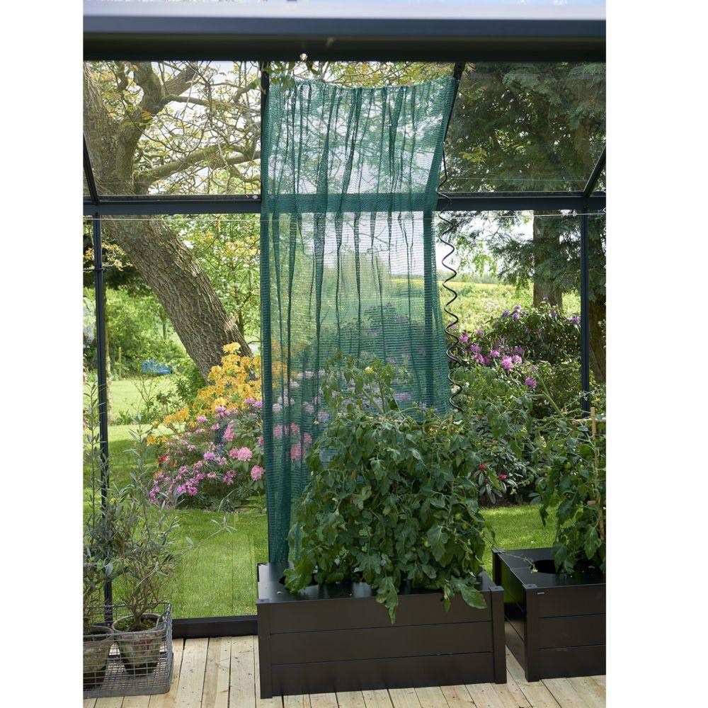 Voile d'ombrage pour serres 183 x 259 cm vert – Juliana