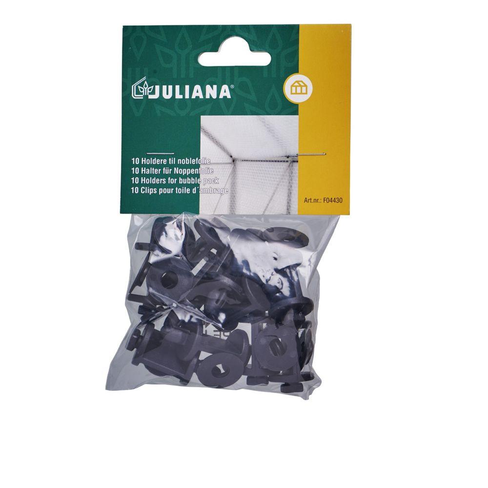 Clips de fixation pour isolant plastique à bulles – Juliana