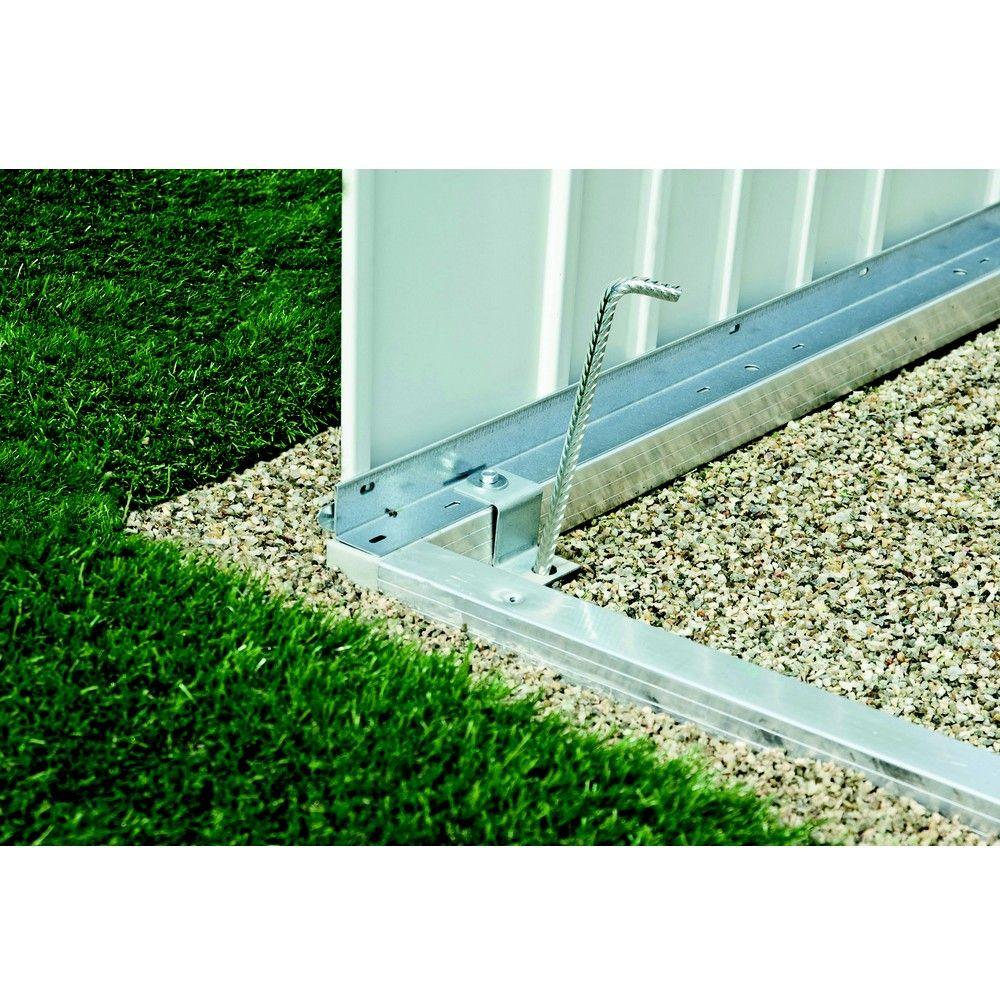 Cadre de sol pour armoire de jardin L227 H182,5 cm Biohort