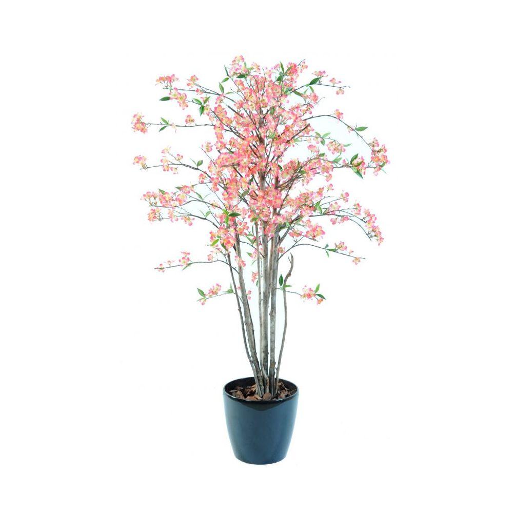 Cerisier du Japon artificiel en fleurs