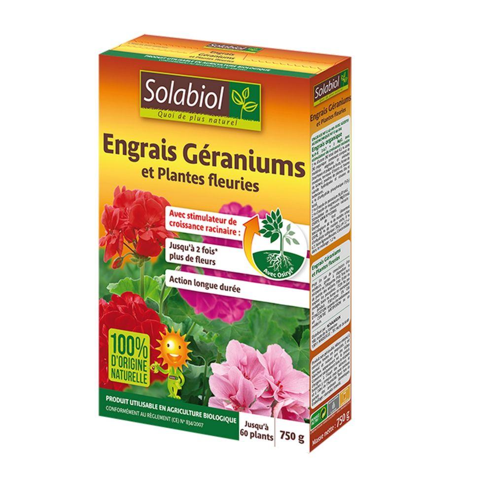 Engrais bio pour géraniums 750 g – Solabiol