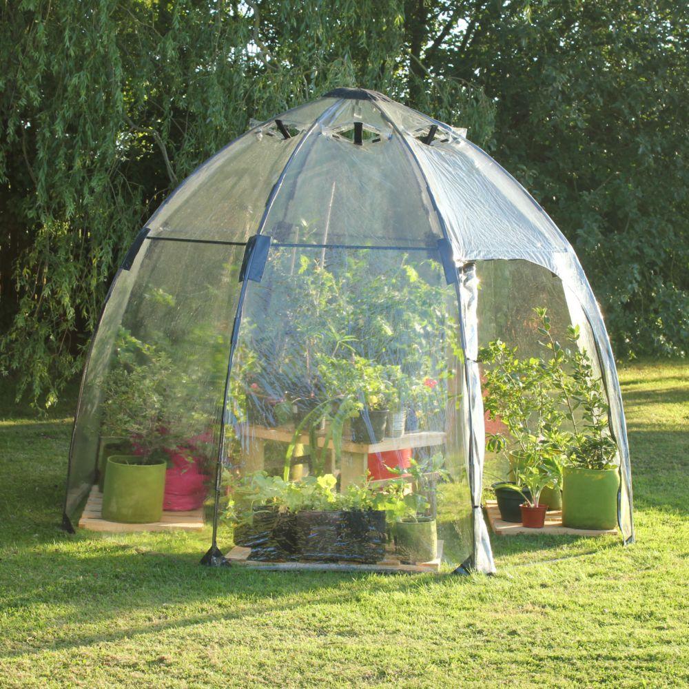 serre bulle d 39 hiver 6 m gamm vert. Black Bedroom Furniture Sets. Home Design Ideas