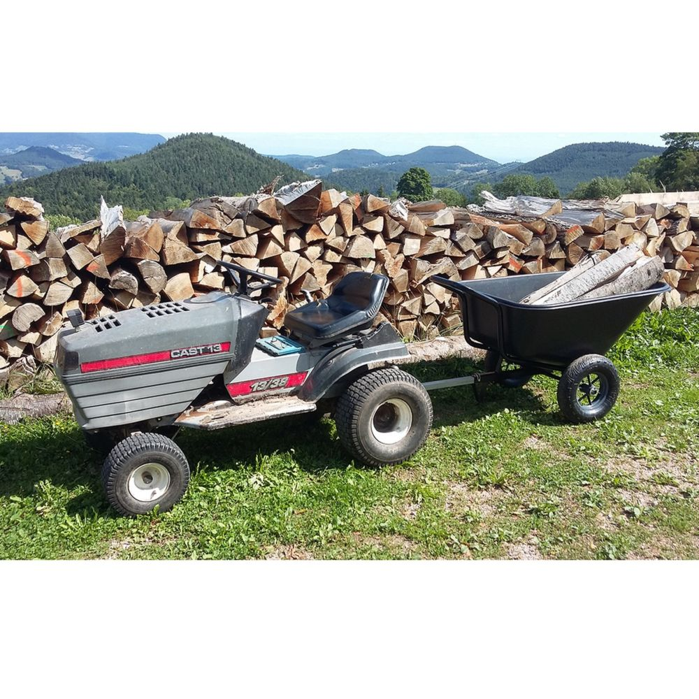 Brouette tractable Tracto'one 300 L – Haemmerlin