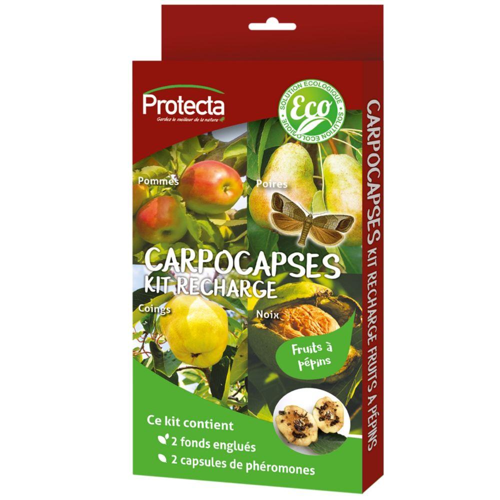 Recharge de 2 phéromones – Spécial fruits à pépins – Protecta