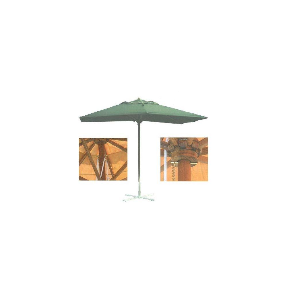 parasol rectangulaire gamm vert