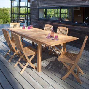 mobilier de jardin en bois - Jardin Mobilier