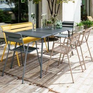 mobilier de jardin en mtal - Meuble De Jardin