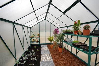 Amenagement interieur dune serre de jardin mon blog - Comment choisir une serre de jardin ...