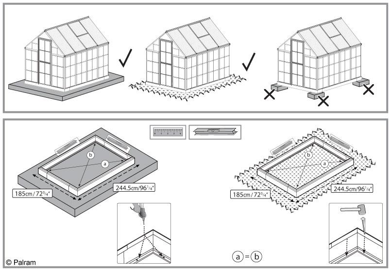 Où et comment installer sa serre en verre ou en polycarbonate | Gamm ...