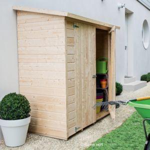 Abris de jardin à toit plat et monopente - Gamm Vert