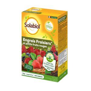 Engrais fraisiers et petits fruits 1.5 kg - Solabiol
