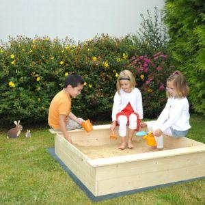 [Nouveauté] Bac à sable en bois avec couvercle- Gammvert....