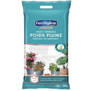 Terreau poids plume toutes plantes 10 L - Fertiligène