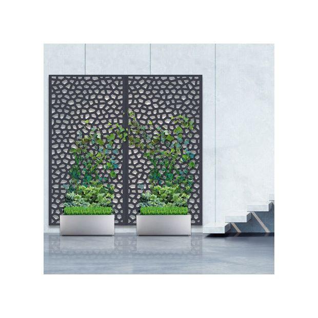 Pack panneau décoratif Mosaïc vertical supplémentaire sur sol dur - 1m x 2m  - Nortene