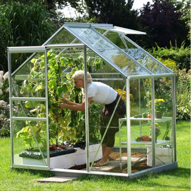 serre venus en verre tremp m alu lams gamm vert. Black Bedroom Furniture Sets. Home Design Ideas