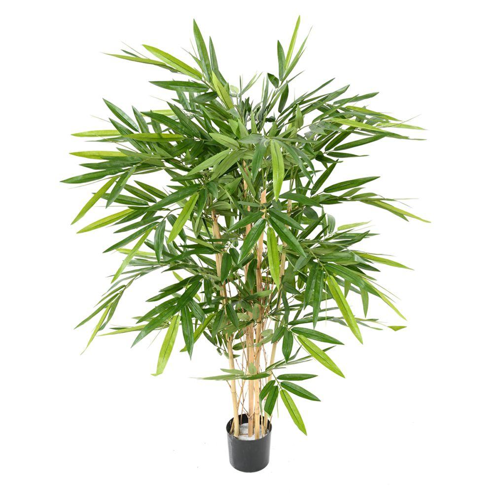 Bambou artificiel 6 chaumes