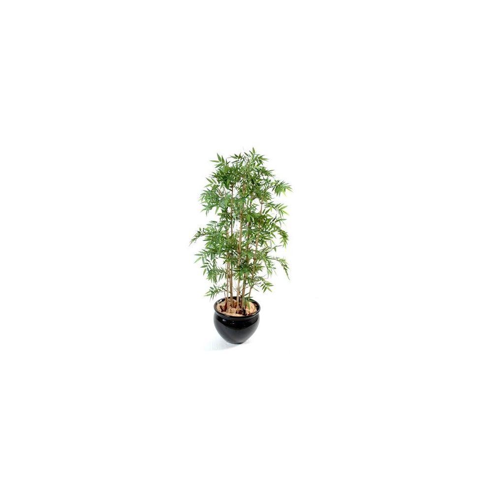 Bambou oriental (tronc naturel, feuillage artificiel) 1m50