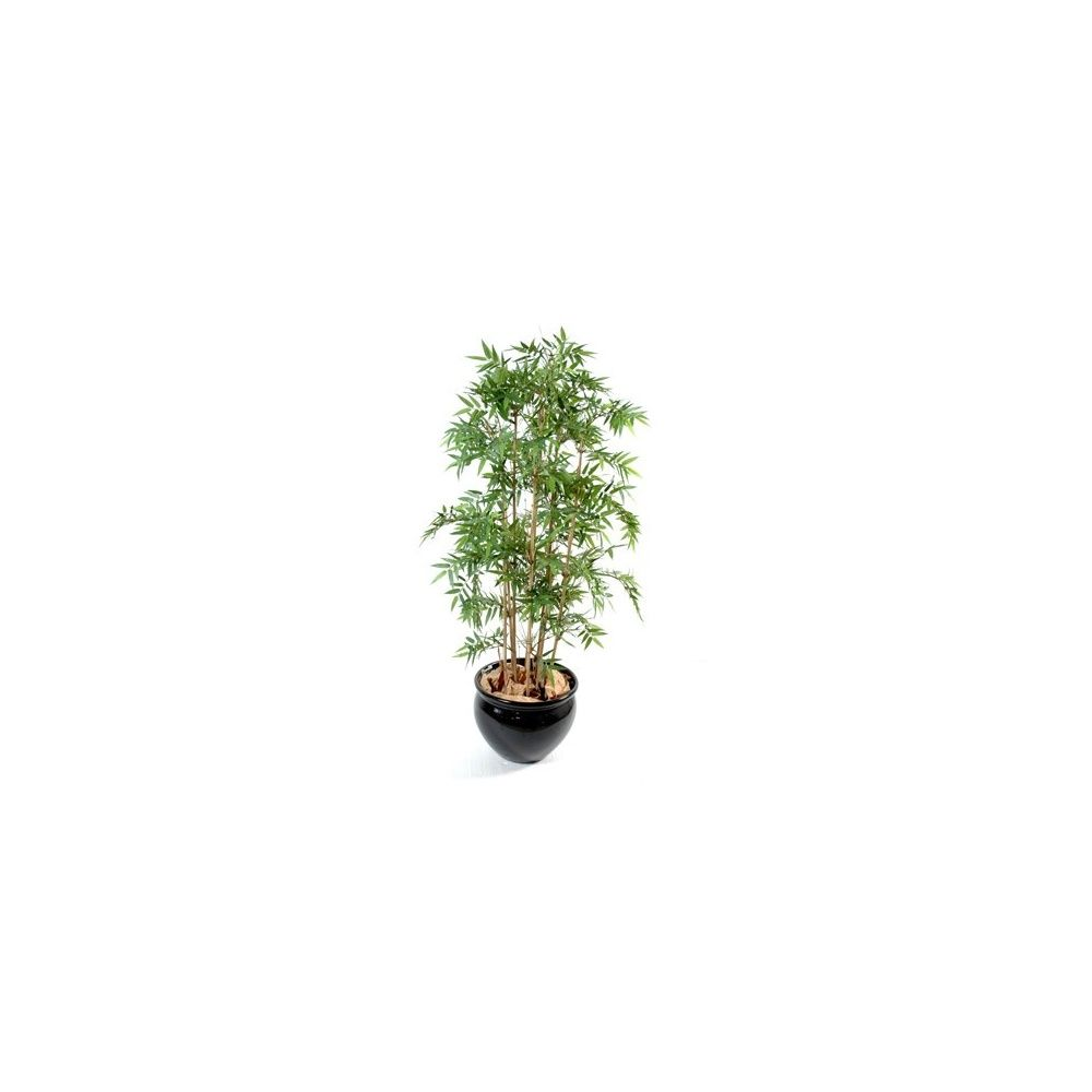 Bambou oriental (tronc naturel, feuillage artificiel) 1m70