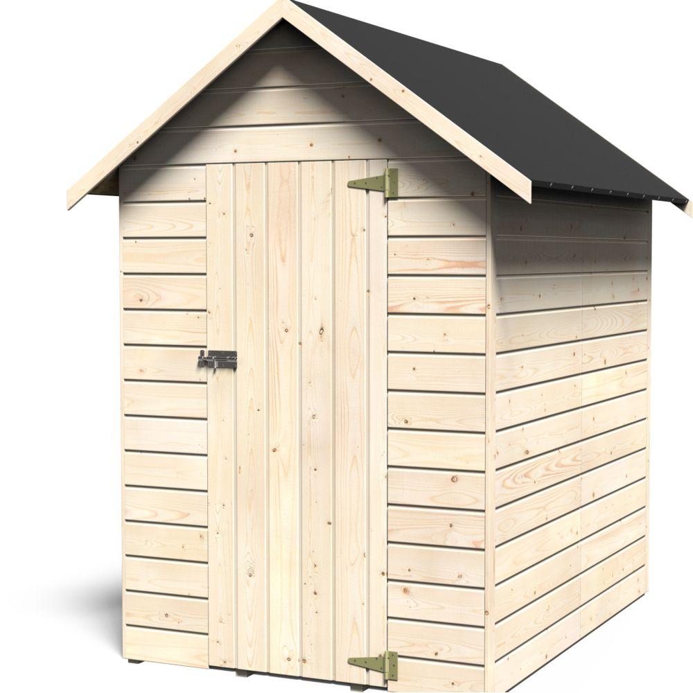 Petit abri de jardin bois avec plancher 2 47 m ep 12 mm - Abris de jardin avec plancher ...