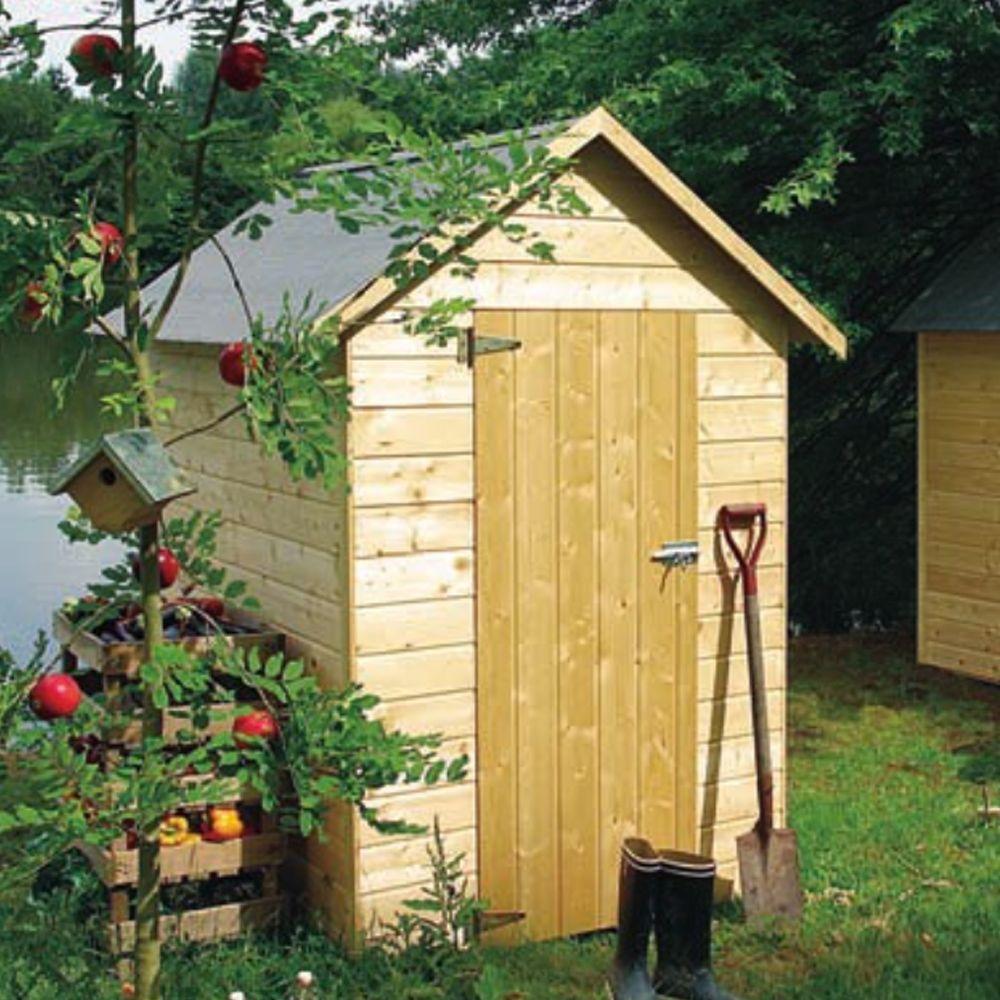 petit abri de jardin bois avec plancher 2 47 m ep 12 mm. Black Bedroom Furniture Sets. Home Design Ideas