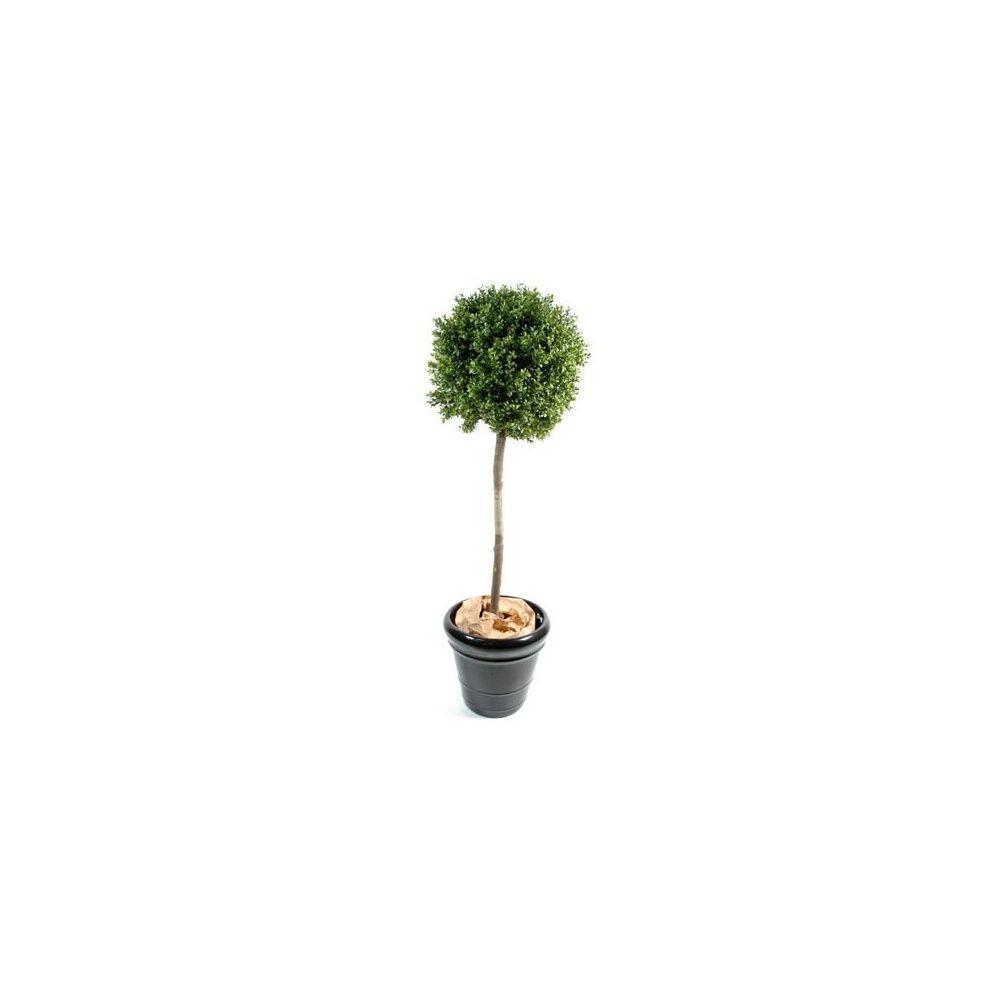 Buis tige boule (tronc naturel, feuillage artificiel) H 170cm