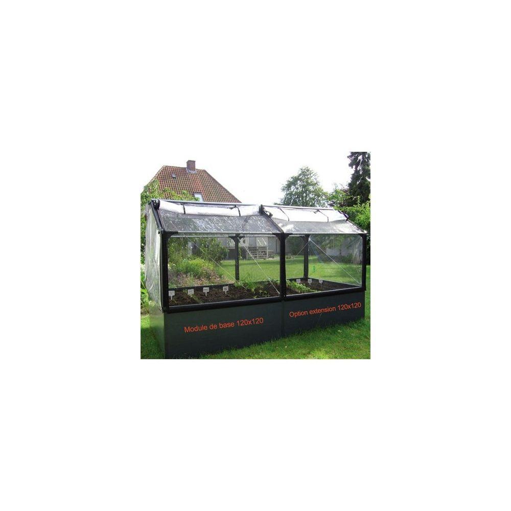 Jardin potager surélevé tout équipé, Grow Camp Carton 115 x 58,5 x ...