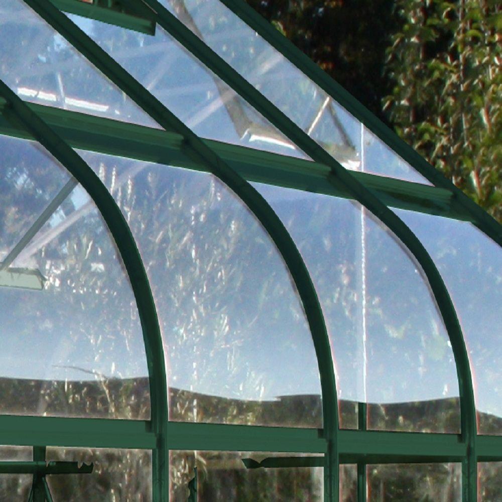 Serre de jardin Supreme verre trempé 11.3m² - Halls
